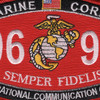 0691 Operational Communication Chief MOS Patch | Center Detail