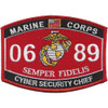 0689 MOS Cyber Security Chief Patch