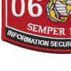 0681 MOS Information Security Technician Patch | Lower Left Quadrant