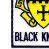 5th Cavalry Regiment Patch - Black Knights | Lower Left Quadrant