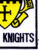 5th Cavalry Regiment Patch - Black Knights | Lower Right Quadrant