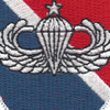 11th Special Forces Group Flash With Senior Jump Wings Patch | Center Detail