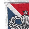 11th Special Forces Group Flash With Senior Jump Wings Patch | Upper Left Quadrant