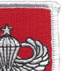 11th Special Forces Group Flash With Senior Jump Wings Patch | Upper Right Quadrant