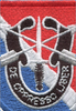 11th Special Forces Group Flash Patch With Crest - Center