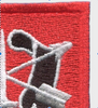 11th Special Forces Group Flash Patch With Crest - Top Right