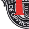 11th Special Forces Group Crest Patch Black White Red | Lower Left Quadrant
