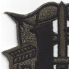 11th Special Forces Group Crest OD Green Patch   Upper Left Quadrant