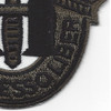 11th Special Forces Group Crest OD Green Patch   Lower Right Quadrant