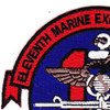 11th Marine Expeditionary Unit Patch | Upper Left Quadrant