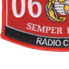0629 Radio Chief MOS Patch | Lower Left Quadrant