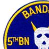 5th Battalion Of The 60th Infantry Regiment Patch Bandido Mech Charlie   Upper Left Quadrant