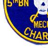 5th Battalion Of The 60th Infantry Regiment Patch Bandido Mech Charlie   Lower Left Quadrant