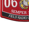 0621 Field Radio Operator MOS Patch | Lower Left Quadrant
