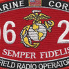 0621 Field Radio Operator MOS Patch | Center Detail