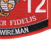 0612 Field Wireman MOS Patch | Lower Right Quadrant
