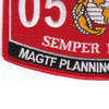 0511 Marine Air Ground Task Force Planning Specialist MOS Patch | Lower Left Quadrant