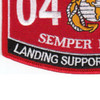 0481 Landing Support Specialist MOS Patch | Lower Left Quadrant