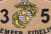 0351 Assaultman MOS Desert Patch