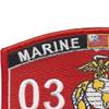 0326 Special Ops Recon MOS Patch | Upper Left Quadrant