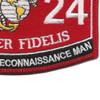 0324 Combat Diver Reconnaissance Man MOS Patch | Lower Right Quadrant