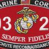 0323 Parachute Reconnaissance Man MOS Patch   Center Detail
