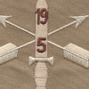 5th Battalion 19th Special Forces Group Helmet Desert Patch   Center Detail