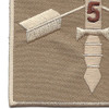 5th Battalion 19th Special Forces Group Helmet Desert Patch   Lower Left Quadrant