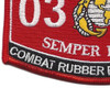0316 Combat Rubber Recon Craft MOS Patch | Lower Left Quadrant