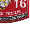 0316 Combat Rubber Recon Craft MOS Patch | Lower Right Quadrant