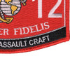 0312 Riverine Assault Craft MOS Patch   Lower Right Quadrant