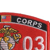 0303 Light Armored Recon Officer MOS Patch   Upper Right Quadrant