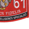 0261 Geographic Intelligence Specialist MOS Patch | Lower Right Quadrant