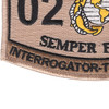 0251 Interrogator Translator MOS Patch Desert | Lower Left Quadrant