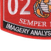 0241 Imagery Analysis Specialist MOS Patch | Lower Left Quadrant