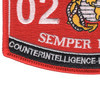 0211 Counterintelligence Humint Specialist MOS Patch | Lower Left Quadrant