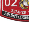 0207 Air Intelligence Officer Mos Patch | Lower Left Quadrant