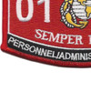 0193 Personnel Administrative Chief MOS Patch | Lower Left Quadrant