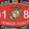 0182 Personnel Chief MOS Patch   Center Detail