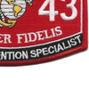 0143 Career Retention Specialist MOS Patch | Lower Right Quadrant