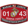 0143 Career Retention Specialist MOS Patch