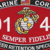 0143 Career Retention Specialist MOS Patch | Center Detail