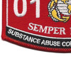 0149 Substance Abuse Control Specialist MOS Patch | Lower Left Quadrant