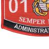 0141 Administration Man MOS Patch | Lower Left Quadrant