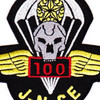 5th Battalion 19th Special Forces Group Airborne 100 Jump SFG-788 Patch   Center Detail