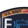 Seabee Construction Equipment Operator Patch Rating | Upper Left Quadrant