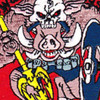 Sea Air And Land Special Forces Patch War Pigs | Center Detail