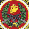 School Of Infantry Training Command Camp Patch   Center Detail