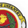 School Of Infantry Training Command Camp Patch   Upper Right Quadrant