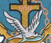 SAR Search & Rescue Swimmer Badge Patch Color   Center Detail